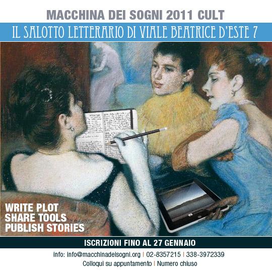Macchina dei sogni, Chicca Profumo, Matteo B. Bianchi, Corsi scrittura creativa Milano, Corsi di scrittura, Scrivere un romanzo
